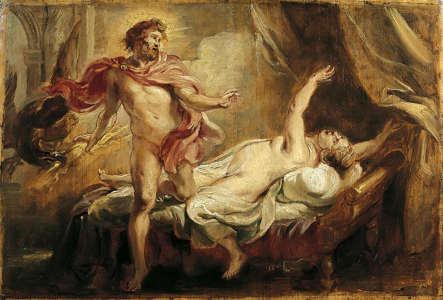 death-of-semele-peter-paul-rubens